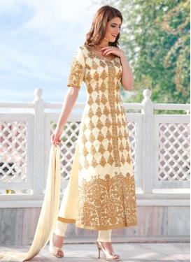 Cotton Satin Designer Salwar Suit