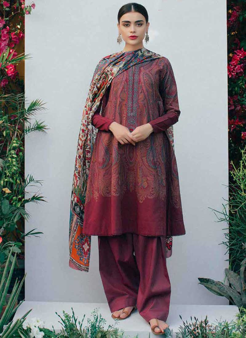 Cotton Satin Trendy Designer Salwar Kameez