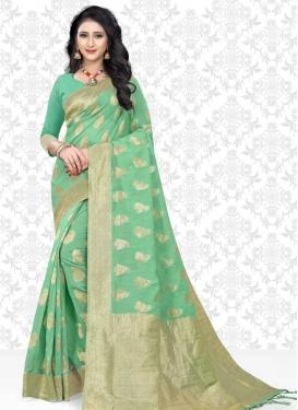Cotton Silk Classic Saree For Ceremonial