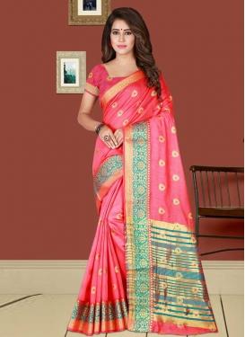 Cotton Silk Contemporary Saree