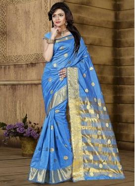 Cotton Silk Designer Traditional Saree For Casual
