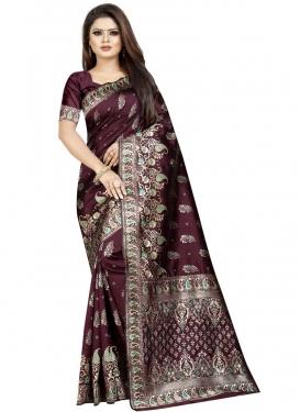 Cotton Silk Designer Traditional Saree For Ceremonial