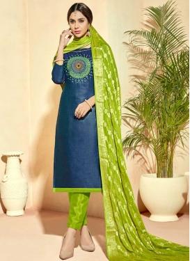Cotton Silk Pant Style Classic Salwar Suit