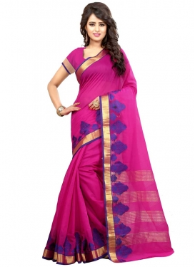 Cotton Silk Traditional Designer Saree