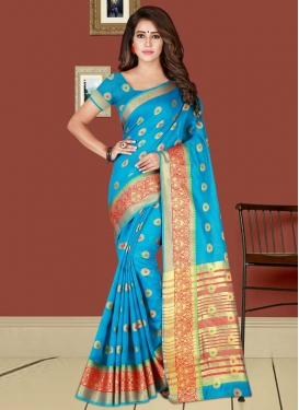 Cotton Silk Traditional Saree For Casual