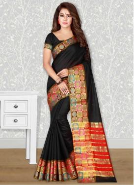 Cotton Silk Trendy Classic Saree For Casual