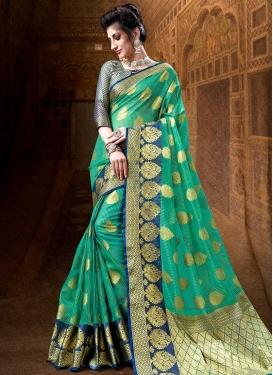 Cotton Silk Trendy Classic Saree For Ceremonial