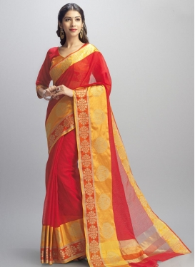 Cotton Silk Trendy Saree