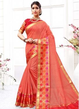 Cotton Silk Trendy Saree