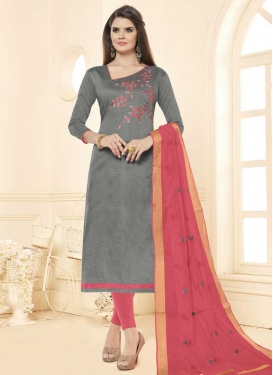 Cotton Trendy Churidar Salwar Kameez