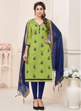 Cotton Trendy Churidar Salwar Kameez For Casual