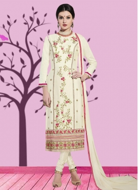 Cotton Trendy Churidar Salwar Kameez For Ceremonial