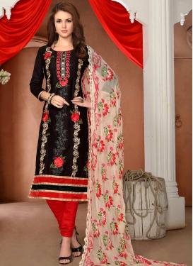 Cotton Trendy Churidar Salwar Kameez For Ceremonial