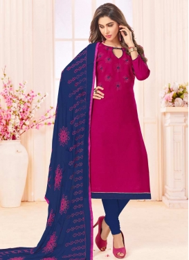 Cotton Trendy Churidar Salwar Suit For Casual
