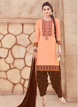 Cotton Trendy Patiala Salwar Suit For Festival