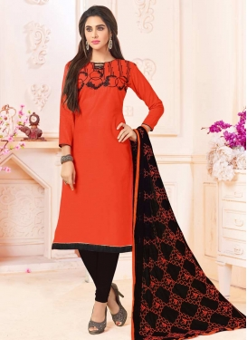 Cotton Trendy Straight Salwar Kameez