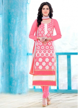 Cotton Trendy Straight Salwar Suit