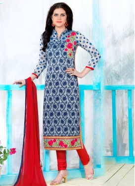 Cotton Trendy Straight Salwar Suit For Ceremonial