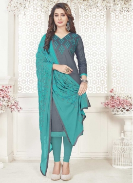Cotton Trendy Straight Suit