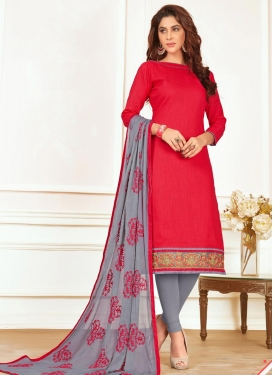 Cotton Trendy Straight Suit For Casual