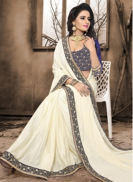 Crepe Jacquard Designer Contemporary Saree