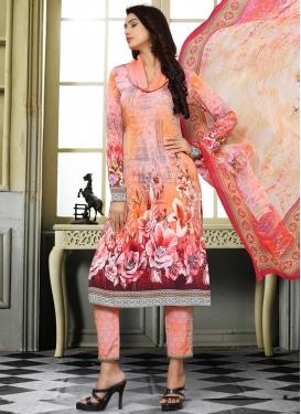 Crepe Silk Pant Style Designer Suit