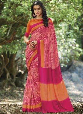 Crepe Silk Traditional Saree