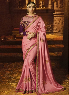Crepe Silk Trendy Classic Saree