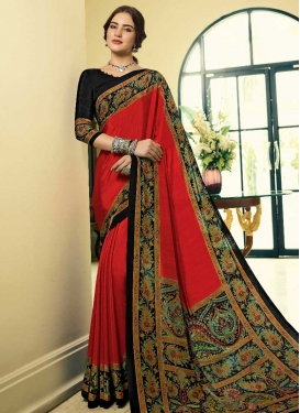 Crepe Silk Trendy Classic Saree