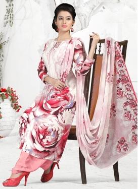 Crepe Silk Trendy Designer Salwar Suit