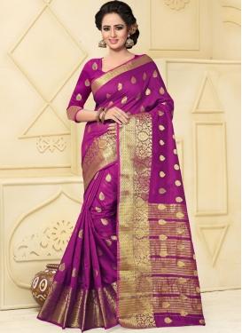 Customary  Art Silk Trendy Classic Saree