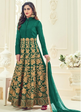 Customary  Long Length Anarkali Salwar Suit