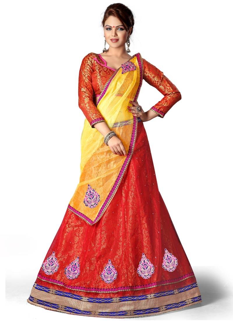 ee176759f2 Customary Stone And Lace Work Party Wear Lehenga Choli