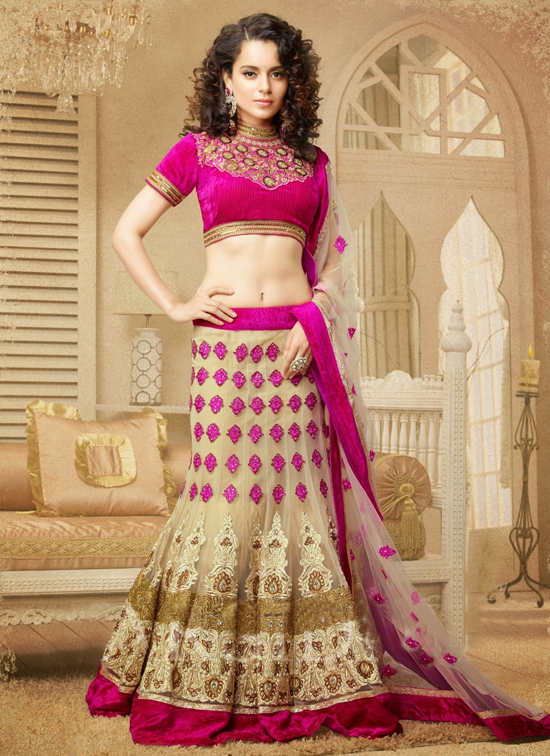 Cutdana Enhanced WeddingLehenga Choli