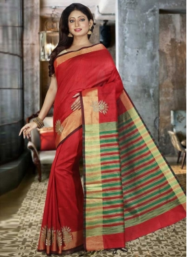 Cutdana Work Art Silk Classic Saree