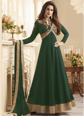 Cutdana Work Long Length Anarkali Salwar Suit