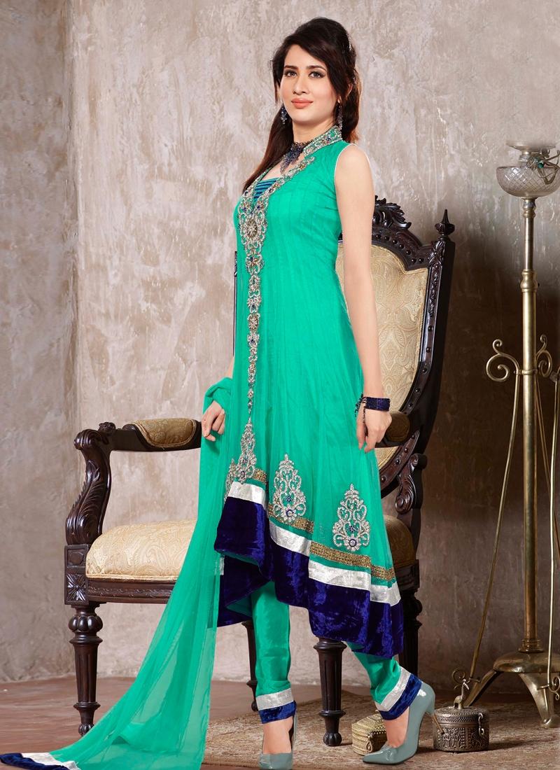Cutdana Work Readymade Designer Salwar Kameez