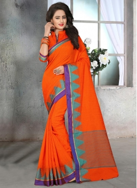 Cute Cotton Silk Contemporary Saree