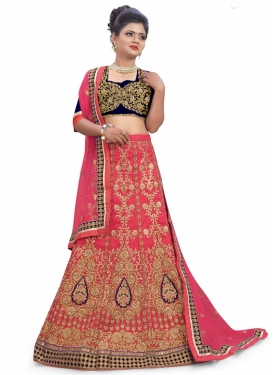 Dainty  A - Line Lehenga For Bridal
