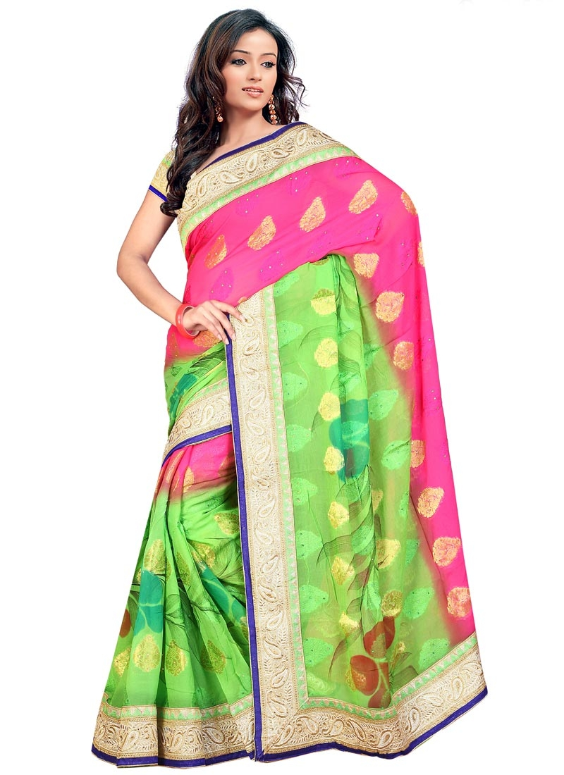 Dashing Viscose Party Wear Saree
