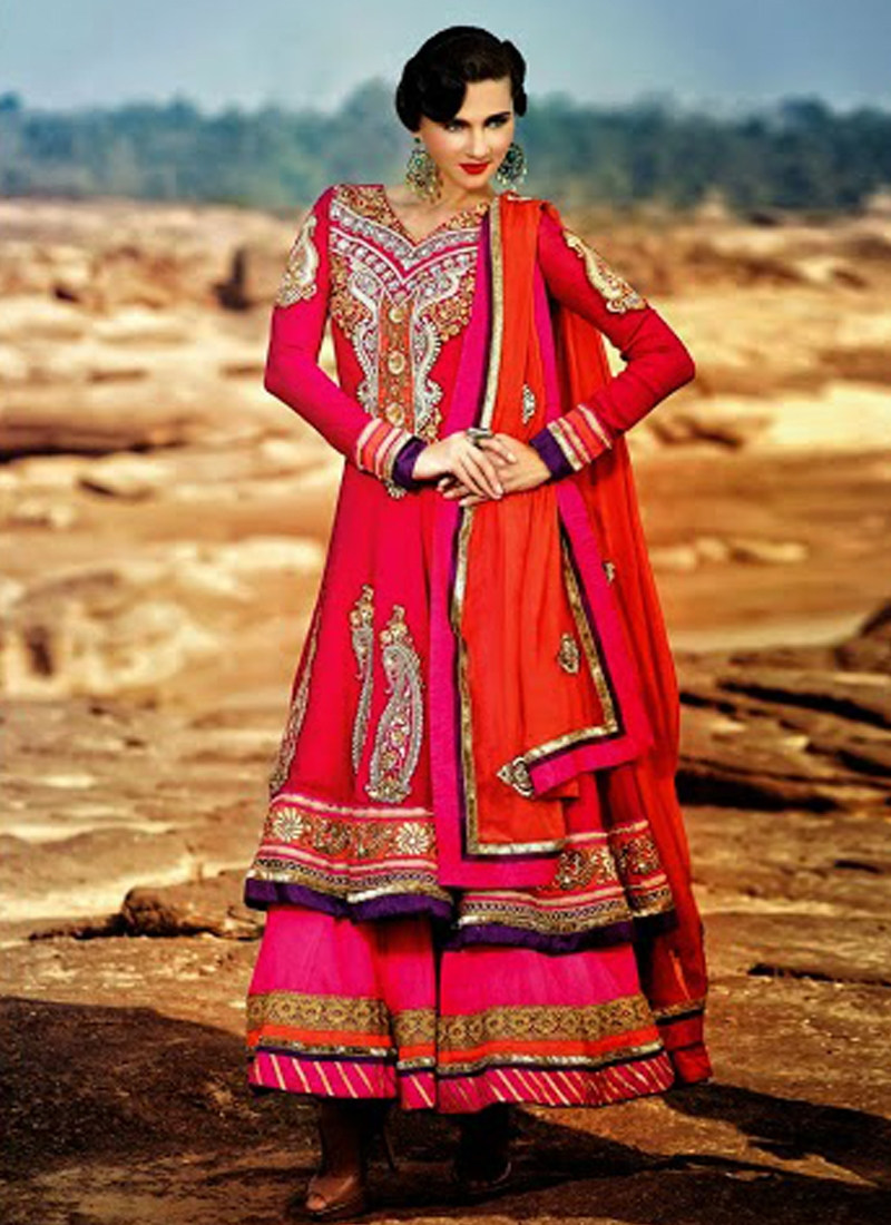 Dazzling Karachi Work Designer Salwar Kameez
