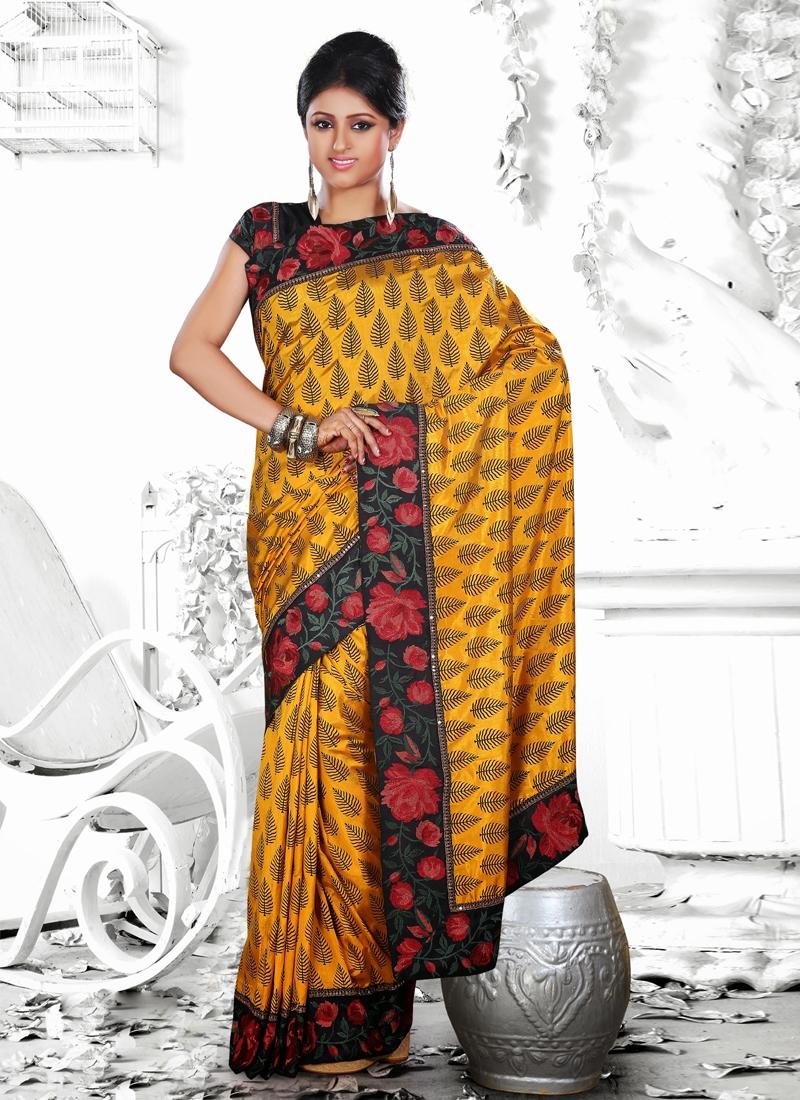 Dazzling Resham Enhanced Party Wear Saree