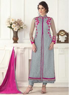 Debonair Designer Pakistani Salwar Suit For Festival