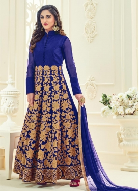 Debonair  Embroidered Work Ankle Length Anarkali Salwar Suit