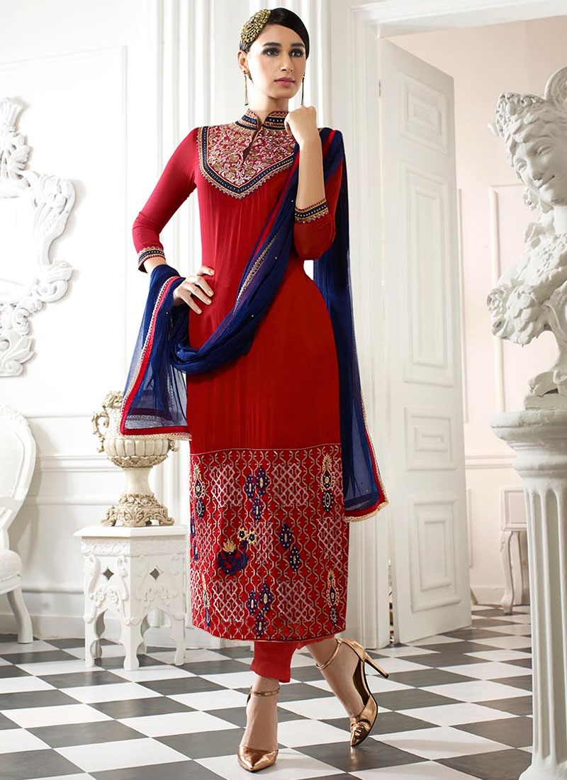 Debonair Embroidery Work Pant Style Pakistani Salwar Kameez