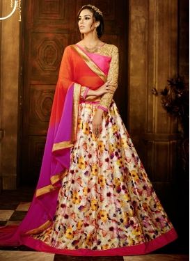 Delectable Banglori Silk Party Wear Lehenga Choli