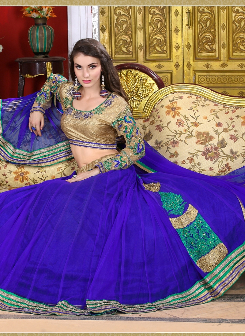 Delectable Lace Work Party Wear Lehenga Choli