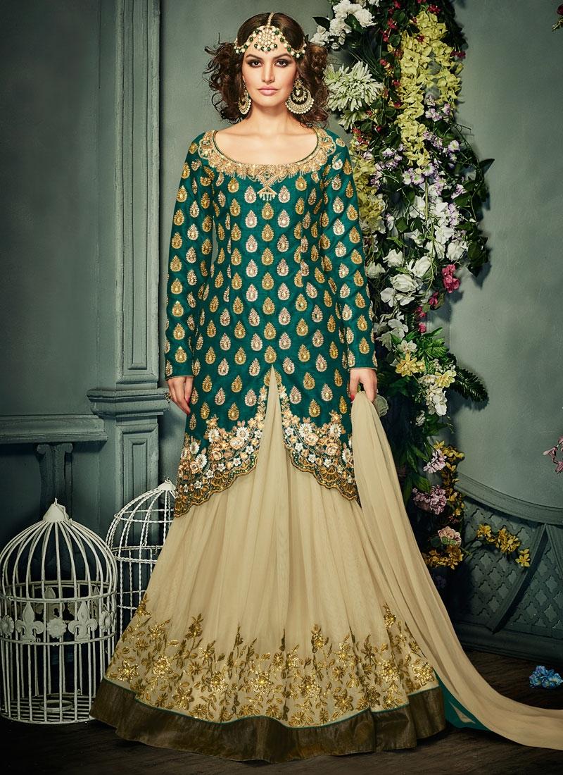 Delectable Sequins Work Kameez Style Designer Lehenga Choli