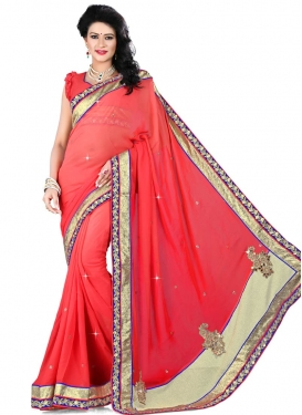 Delectable Sequins Work Viscose Party Wear Saree