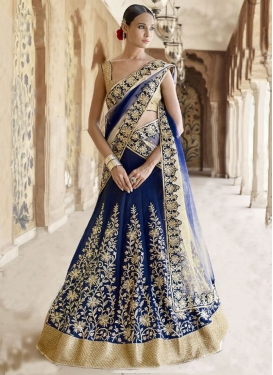 Delectable Stone Work Wedding Lehenga Choli